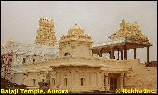 Balaji Temple, Aurora, IL