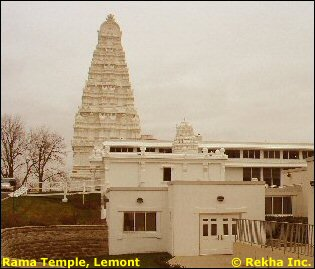 Rama Temple, Lemont, IL